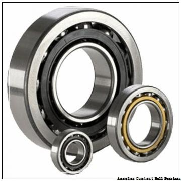 0.394 Inch | 10 Millimeter x 1.378 Inch | 35 Millimeter x 0.748 Inch | 19 Millimeter  GENERAL BEARING 455600  Angular Contact Ball Bearings