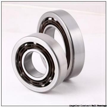 2.165 Inch | 55 Millimeter x 3.937 Inch | 100 Millimeter x 1.311 Inch | 33.3 Millimeter  GENERAL BEARING 55511  Angular Contact Ball Bearings