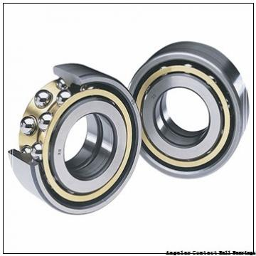 0.669 Inch | 17 Millimeter x 1.575 Inch | 40 Millimeter x 0.689 Inch | 17.5 Millimeter  GENERAL BEARING 5203  Angular Contact Ball Bearings