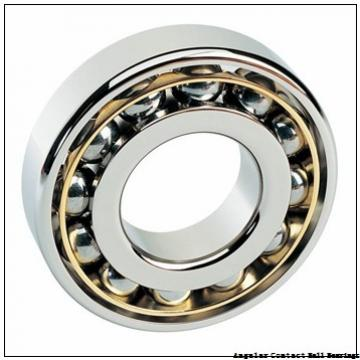 0.984 Inch | 25 Millimeter x 2.441 Inch | 62 Millimeter x 1 Inch | 25.4 Millimeter  GENERAL BEARING 55605  Angular Contact Ball Bearings