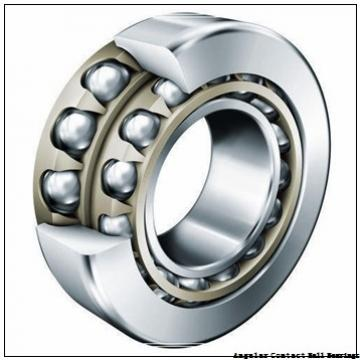 1.575 Inch | 40 Millimeter x 3.15 Inch | 80 Millimeter x 1.189 Inch | 30.2 Millimeter  CONSOLIDATED BEARING 5208-2RS  Angular Contact Ball Bearings